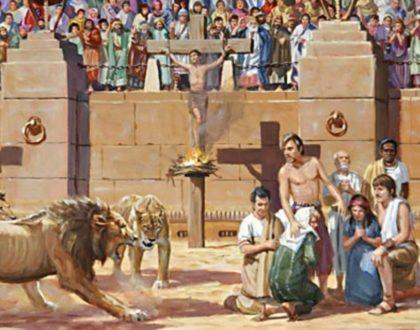ΣΥΓΚΛΟΝΙΣΤΙΚΟ ΚΗΡΥΓΜΑ (Οι σύγχρονοι διωγμοί των Χριστιανών…)
