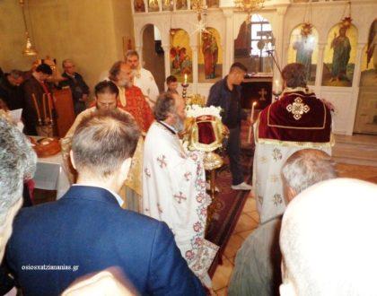 Επί της εορτής των ονομαστηρίων του Γέροντος Ιωαννικίου