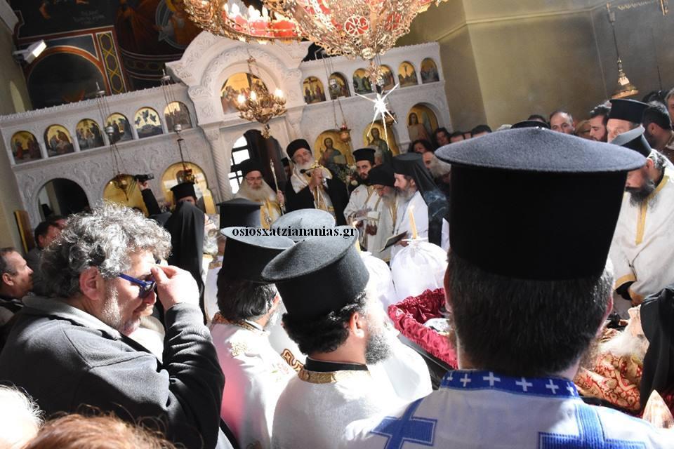 Η οσιακή κοίμηση και η ταφή του Αρχιμανδρίτου Γέροντος Ιωαννικίου Ανδρουλάκη