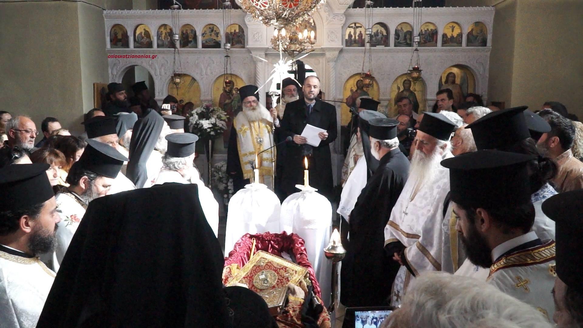 Ράγισαν οι καρδιές όλων με τον Επικήδειο για τον Γέροντα Ιωαννίκιο Ανδρουλάκη