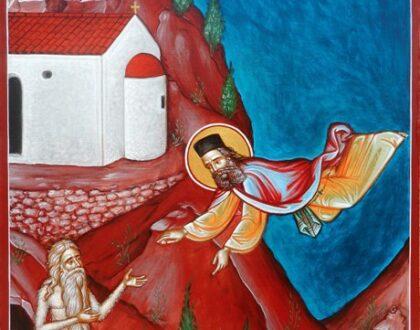 Τεριά, το Αγιοφάραγκο των Μαλλών. Ο  Ιπτάμενος Όσιος και τα Δύο «Ασκητικά» Δέντρα